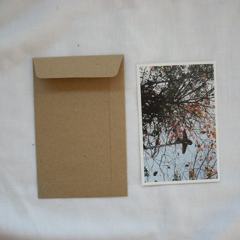 A6 Set Of 50 Brown Kraft Envelopes Size 4 5 Inch X7 Inch For Photo Envelope  Or Postcard